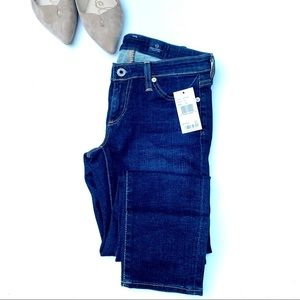 NWT AG The Legging Ankle Super Skinny Jean Size 25